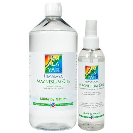 Himalaya magnesiumolie combi 1000 ml en 200 ml Cosmos natural