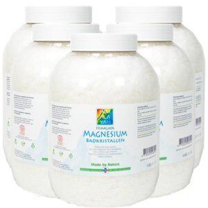 Himalaya Magnesium badkristallen 20 Kg in luxe potten Cosmos natural