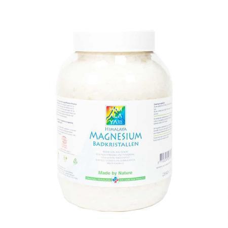 Himalaya magnesium badkristallen 2,5 kg Cosmos natural