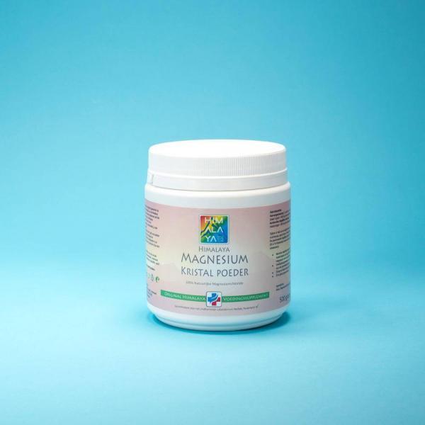 Himalaya magnesiumchloride kristalpoeder voedingssupplement 500 gram