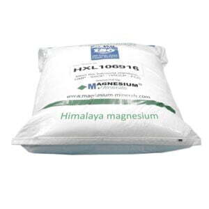 Himalaya 25 kg magnesium badkristallen