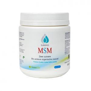 Solmag 500 g MSM kristalpoeder