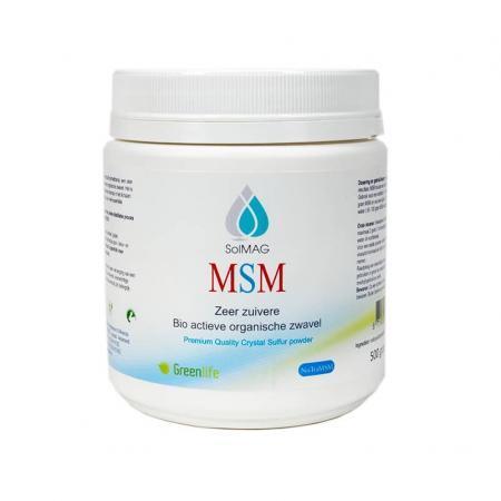 Solmag 500 gr. MSM kristalpoeder