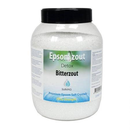 Epsomzout (bitterzout) 2,5 Kg.